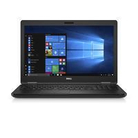Dell laptop: Latitude 5580- Core i5 - 8GB RAM - 128GB - Zwart