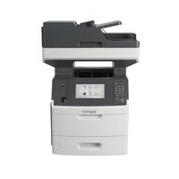 Lexmark multifunctional: MX710dhe - Zwart, Grijs