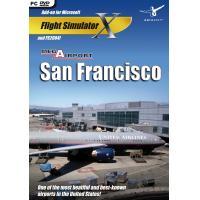 Mega Airport San Francisco (FS X + FS 2004 Add-On)  (DVD-Rom)
