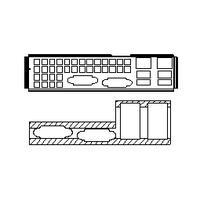 Computer cases parts
