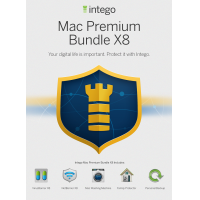 Intego product: Mac Premium Bundle X8 - Engels / Frans / 1 Gebruiker / 1 Jaar / Mac