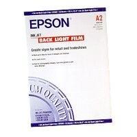Epson witglanzende film: Ink Jet Backlight Film, DIN A2, 170g/m², 10 Sheets