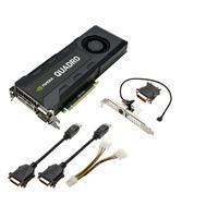 PNY videokaart: NVIDIA Quadro K5200 - 8GB GDDR5, 256-bit, 192GB/s, PCI Express 3.0 x16