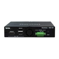 Raritan KX IV-101 KVM switch - Zwart