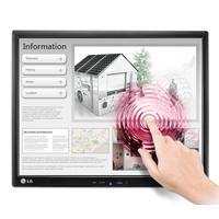 "LG touchscreen monitor: 43.18 cm (17"") LED IPS, 1280x1024, 5 ms, 250 cd/m2, USB, D-Sub - Zwart"