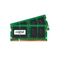 Crucial RAM-geheugen: 4GB DDR2 SODIMM - Groen