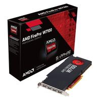Sapphire videokaart: AMD FirePro W7100 8GB GDDR5 - Zwart, Rood