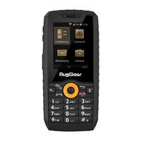 RugGear RG150 Mobiele telefoon - Zwart, Oranje