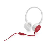 HP H2800 headset - Rood, Wit