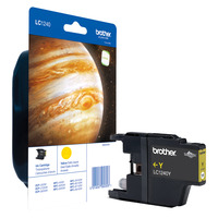 Brother inktcartridge: LC-1240Y - Geel