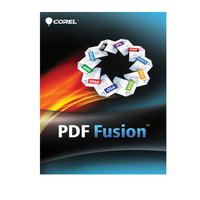 Corel grafische software: PDF Fusion