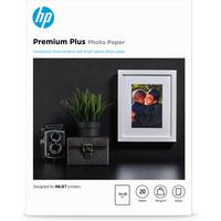 HP fotopapier: Premium Plus glanzend fotopapier, 20 vel, 13 x 18 cm