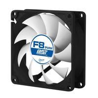 ARCTIC Hardware koeling: F8 PWM PST - Zwart, Wit