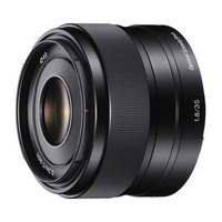 Sony camera lens: Lens met E-bevestiging, Lens met vaste brandpuntsafstand van 35mm met helder F1.8-diafragma en .....