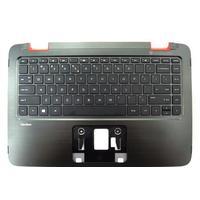HP notebook reserve-onderdeel: Top Cover & Keyboard (UK English) - Zwart