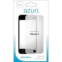 Azuri screen protector: Anti-glare Apple iPhone 5 - Transparant