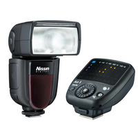 Nissin Di700A + Commander Air 1 camera flitser - Zwart
