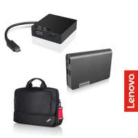 Lenovo Travelpack Promo bundle hub - Zwart