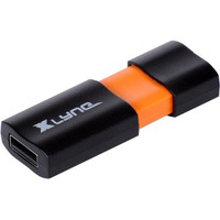 Xlyne USB flash drive: Wave USB 2.0 16GB - Zwart, Oranje