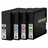 Canon inktcartridge: PGI-2500XL BK/C/M/Y + Calc - Zwart, Cyaan, Magenta, Geel