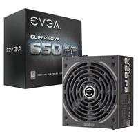 EVGA power supply unit: SuperNOVA 650 P2 - Zwart
