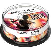 Emtec CD: CD-R, 700MB, 25pcs.