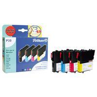 Pelikan inktcartridge: 4106902 - Zwart, Cyaan, Magenta, Geel