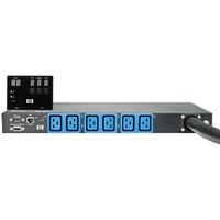 Hewlett Packard Enterprise energiedistributie: 32A Intl Core Only Intelligent Modular PDU - Zwart, Blauw