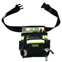 Toolpack Single-Pouch Tool Belt, Polyester