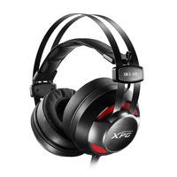 ADATA XPG EMIX H30 + SOLOX F30 Headset - Zwart, Rood