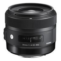 Sigma camera lens: 30mm F1.4 DC HSM | Art - Zwart