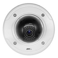 Axis beveiligingscamera: P3367-VE - Wit