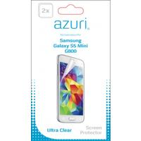 Azuri screen protector: AZDUOSPSAG800 schermbeschermer - Transparant