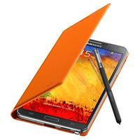 Samsung mobile phone case: Flip voor Galaxy Note 3, Oranje