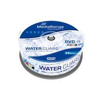 MediaRange DVD: DVD-R 4,7GB 4,7GB 16x Waterguard Photo Inkjet Fullsurface Printable Cake 25