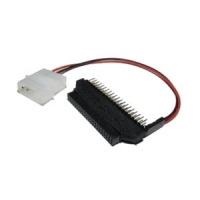 "Sabrent 2.5/3.5"" Adapter kabel adapter - Zwart,Wit"