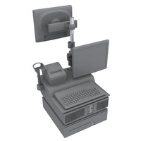HP Enclosure, 5.83kg montagekit