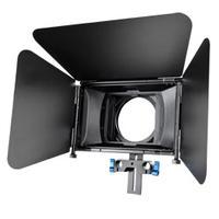 Walimex lenskap: pro Matte Box Lens Hood M2 for DSLR Rig - Zwart