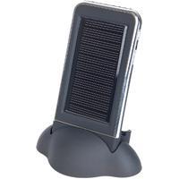 Gembird powerbank: Zonlichtlader voor iPhone - Zwart
