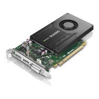 Lenovo videokaart: NVIDIA Quadro K2200, 4 GB GDDR5, DVI-I, 2x DisplayPort, 240 g