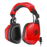 Mad Catz headset: F.R.E.Q. 3 - Rood