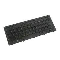 DELL notebook reserve-onderdeel: Keyboard (CZECH) - Zwart