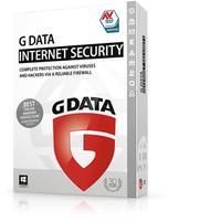 G DATA software licentie: Internet Security, ESD, 4 U, 3 Y