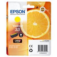 Epson inktcartridge: Ink Cartridge, 4.5 ml, Yellow - Geel