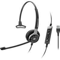 Sennheiser headset: SC 630 USB ML - Zwart, Zilver