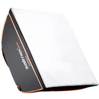 Walimex camera kit: pro Softbox Orange Line 90x90 - Zwart, Wit