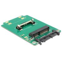 DeLOCK interfaceadapter: Converter Micro SATA 16 Pin > mSATA half size