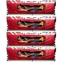 G.Skill RAM-geheugen: Ripjaws 16GB DDR4-2400Mhz - Rood