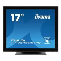 "Iiyama touchscreen monitor: ProLite 43.18 cm (17 "") (43 cm) TN, 1280 x 1024, 5:4, 5 ms, 1000:1, 225 cd/m², 0.264 x ....."