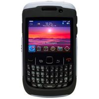 Otterbox mobile phone case: BlackBerry Curve 8500/9300 Commuter - Zwart, Zilver